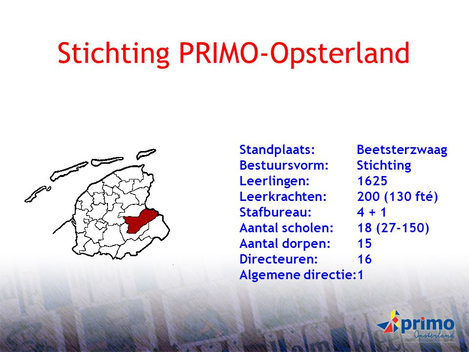 Stichting PRIMO-Opsterland