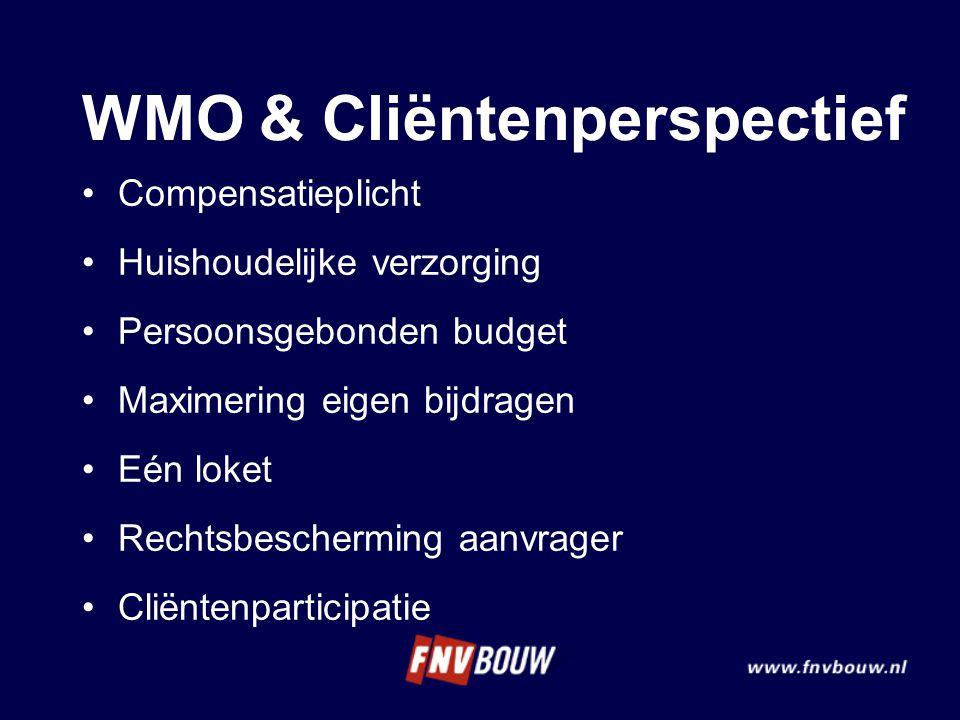 WMO & Cliëntenperspectief