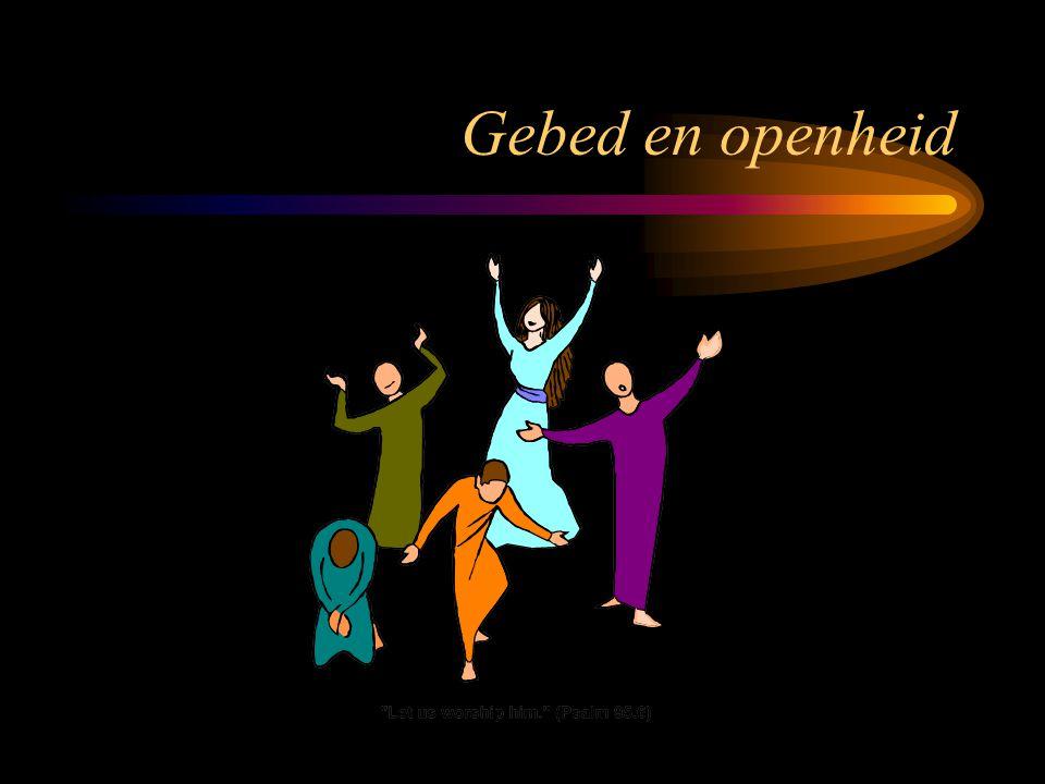 Gebed en openheid