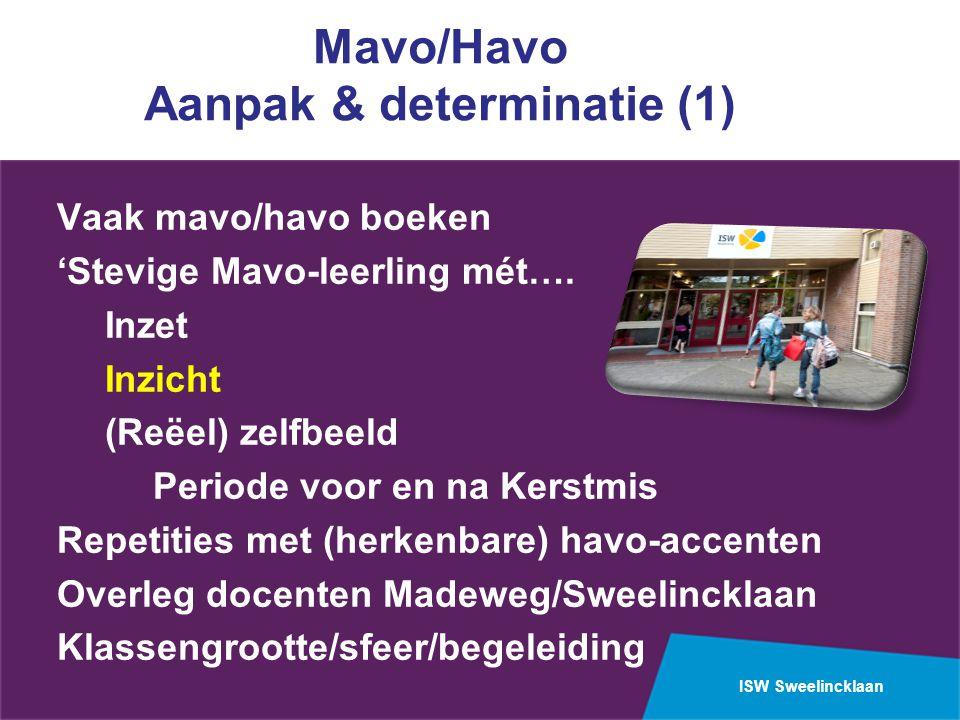 Mavo/Havo Aanpak & determinatie (1)