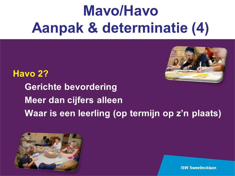 Mavo/Havo Aanpak & determinatie (4)