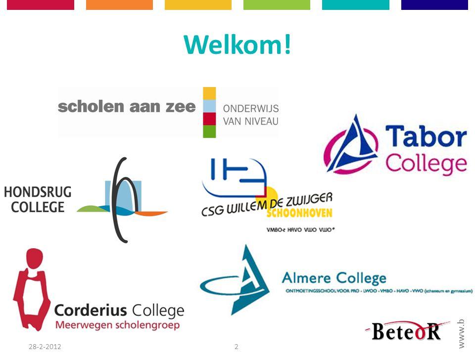 Welkom! 28-2-2012