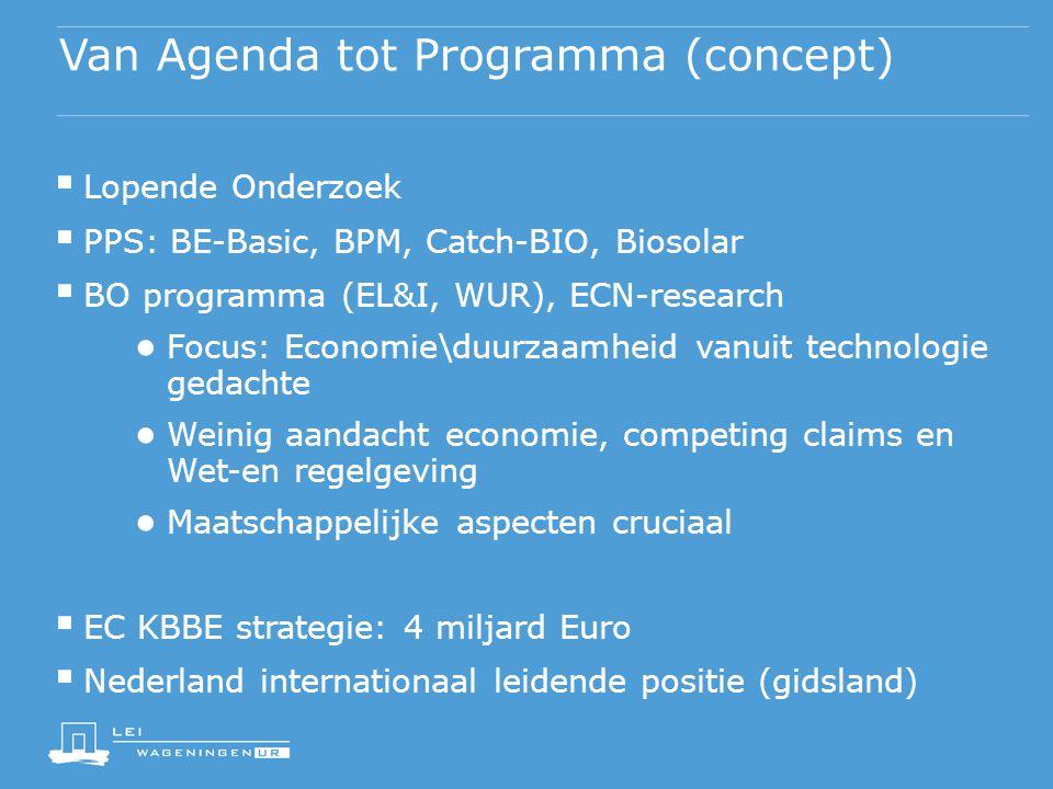 Van Agenda tot Programma (concept)