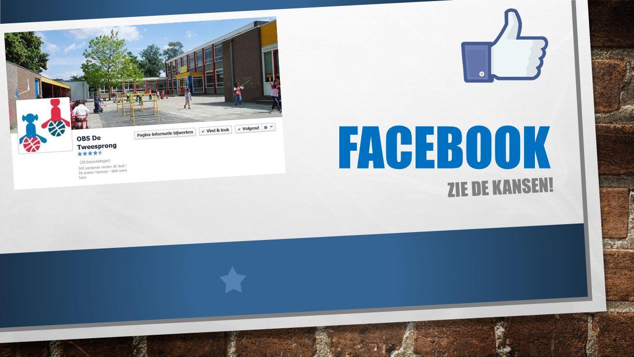 Facebook Zie de kansen!