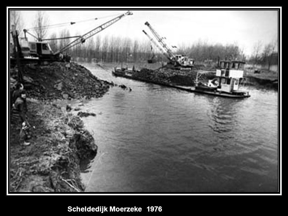 Scheldedijk Moerzeke 1976