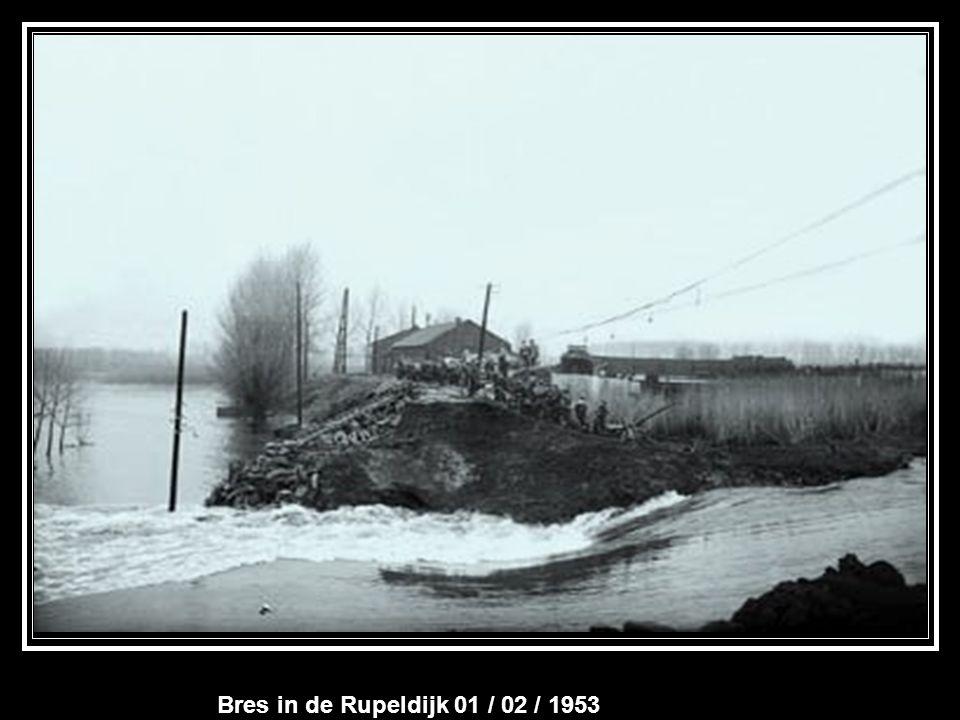 Bres in de Rupeldijk 01 / 02 / 1953
