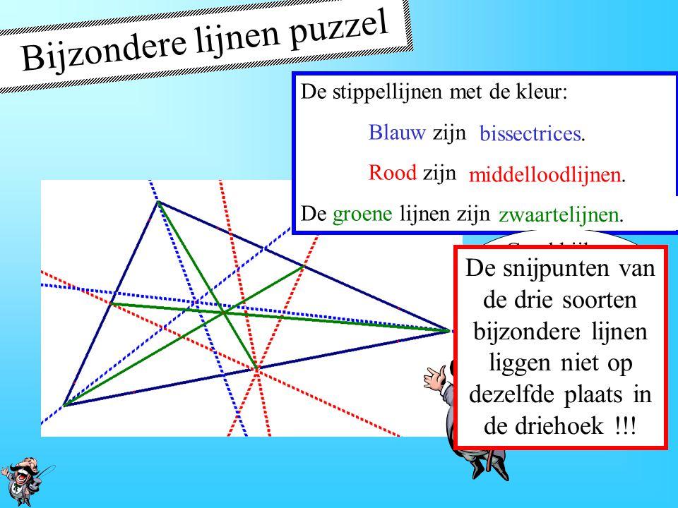 Bijzondere lijnen puzzel