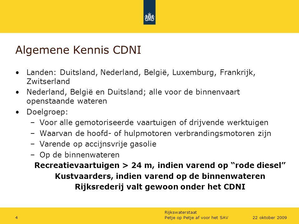 Algemene Kennis CDNI Landen: Duitsland, Nederland, België, Luxemburg, Frankrijk, Zwitserland.