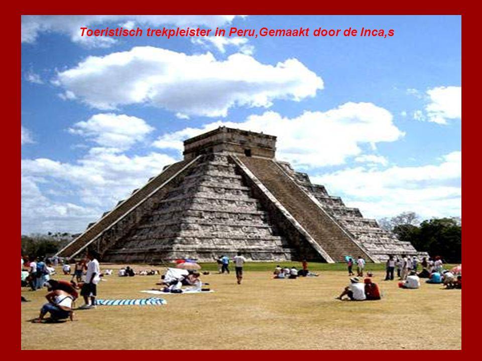 Toeristisch Trekpleister in Peru,Gemaakt door de Inca,s