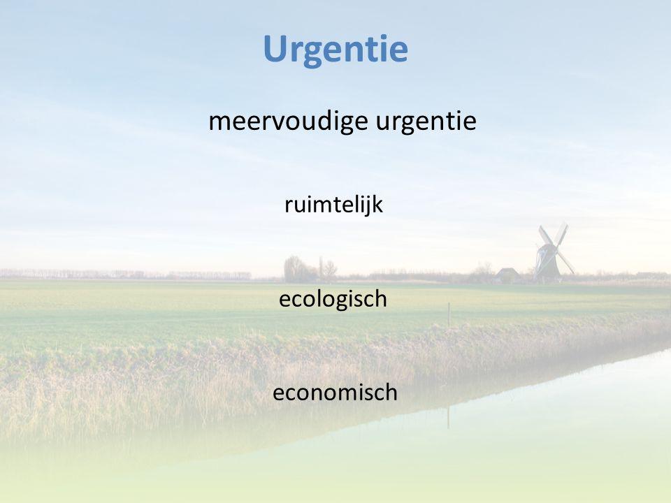 Urgentie meervoudige urgentie ruimtelijk ecologisch economisch 3