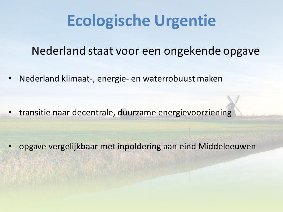 Nederland staat voor een ongekende opgave