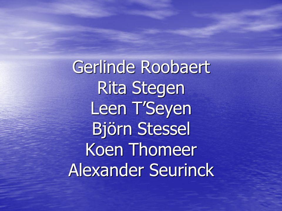 The End Gerlinde Roobaert Rita Stegen Leen T'Seyen Björn Stessel