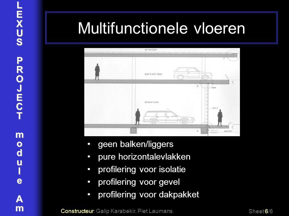 Multifunctionele vloeren