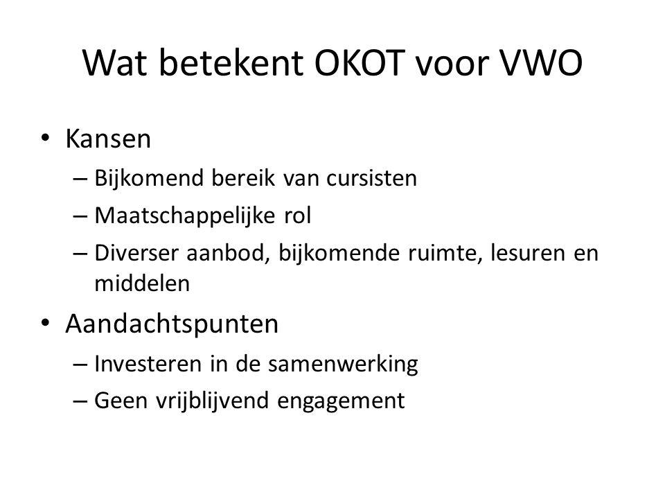 Wat betekent OKOT voor VWO