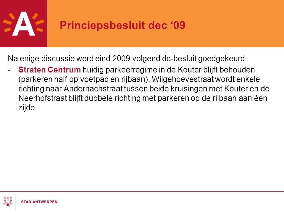Princiepsbesluit dec '09