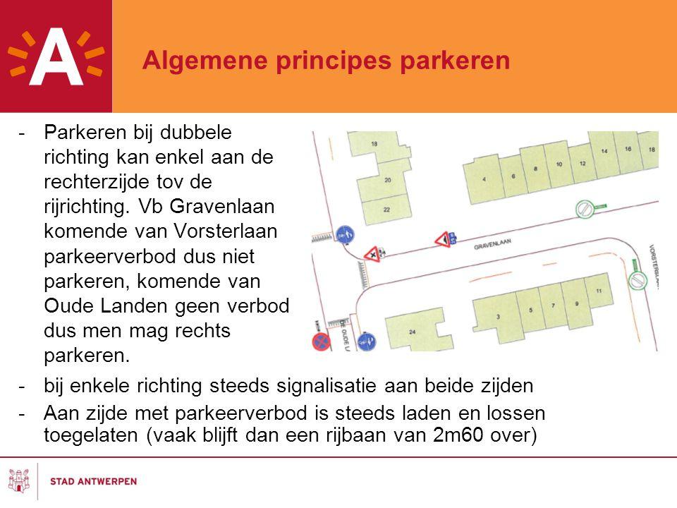 Algemene principes parkeren