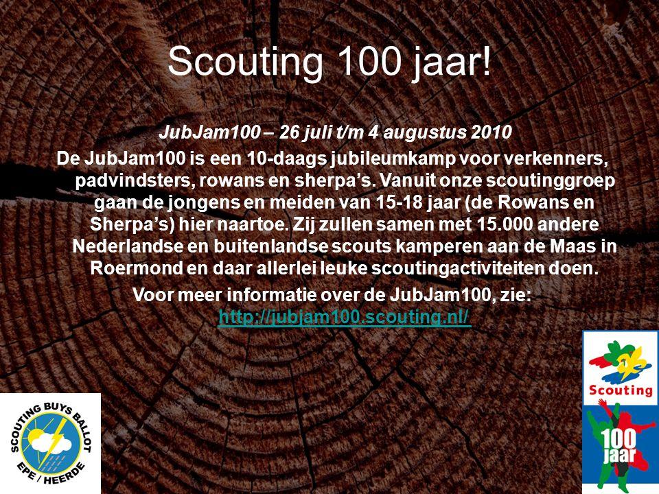 JubJam100 – 26 juli t/m 4 augustus 2010