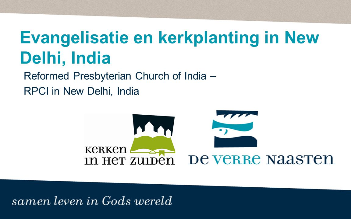 Evangelisatie en kerkplanting in New Delhi, India