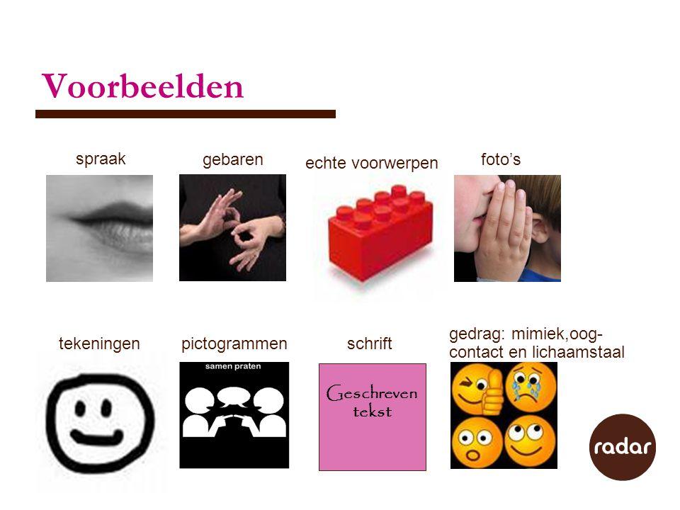Voorbeelden spraak gebaren echte voorwerpen foto's gedrag: mimiek,oog-