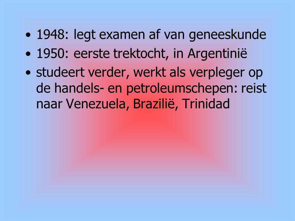 1948: legt examen af van geneeskunde