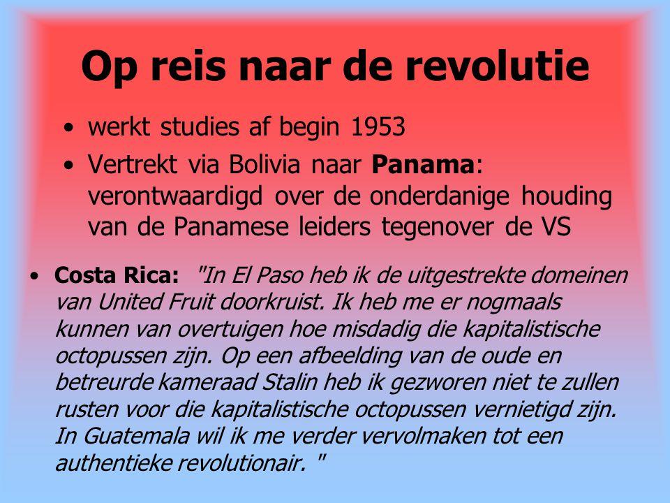 Op reis naar de revolutie