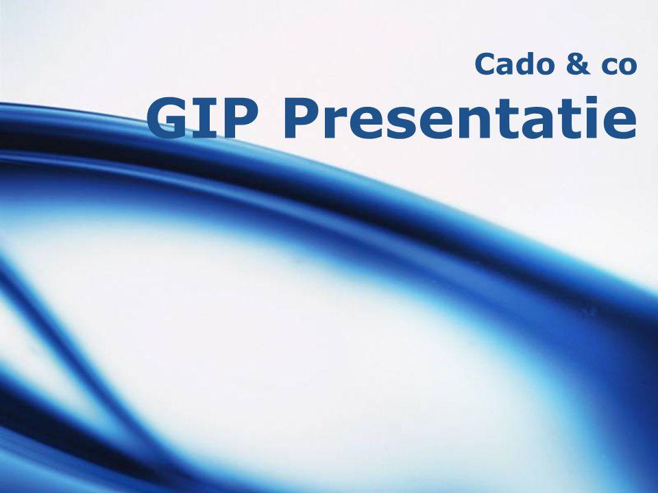 Cado & co GIP Presentatie