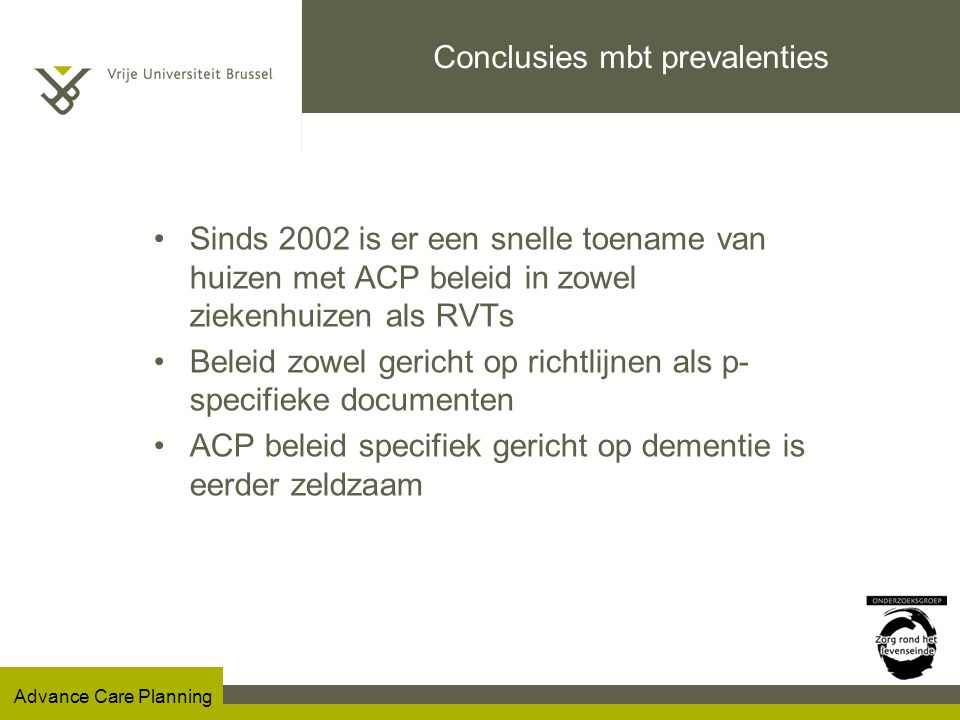 Conclusies mbt prevalenties