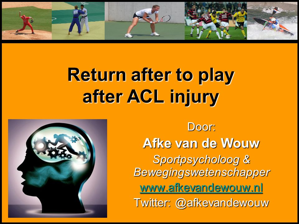 Return after to play after ACL injury