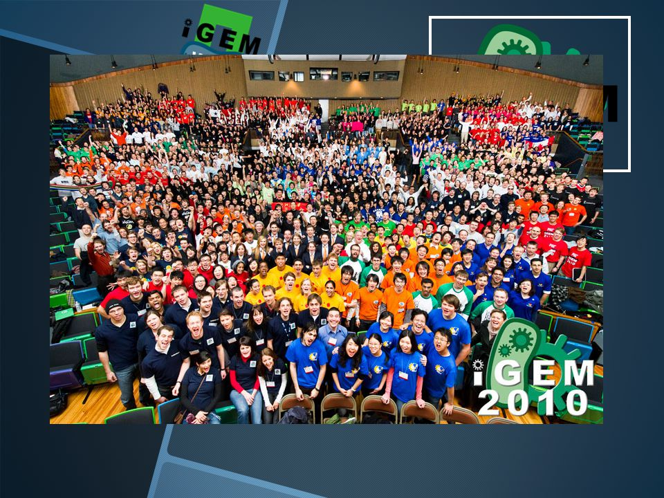 iGEM international Genetically Engineered Machine competition MIT