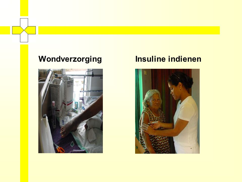 Wondverzorging Insuline indienen