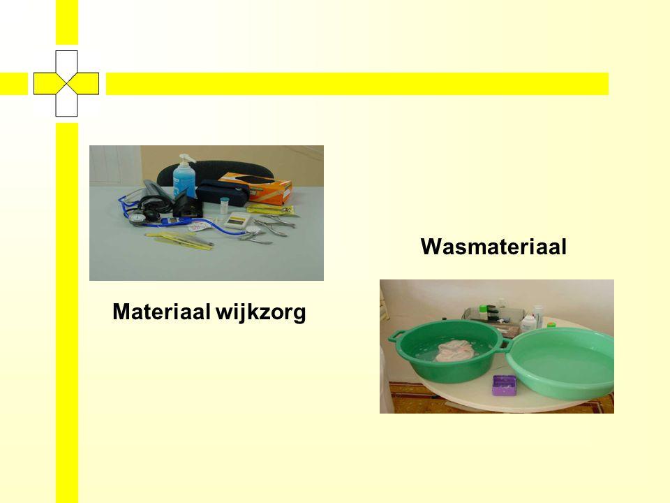 Wasmateriaal Materiaal wijkzorg