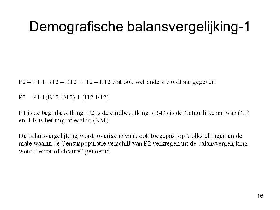 Demografische balansvergelijking-1