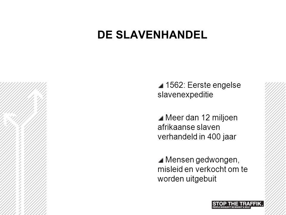 DE SLAVENHANDEL 1562: Eerste engelse slavenexpeditie