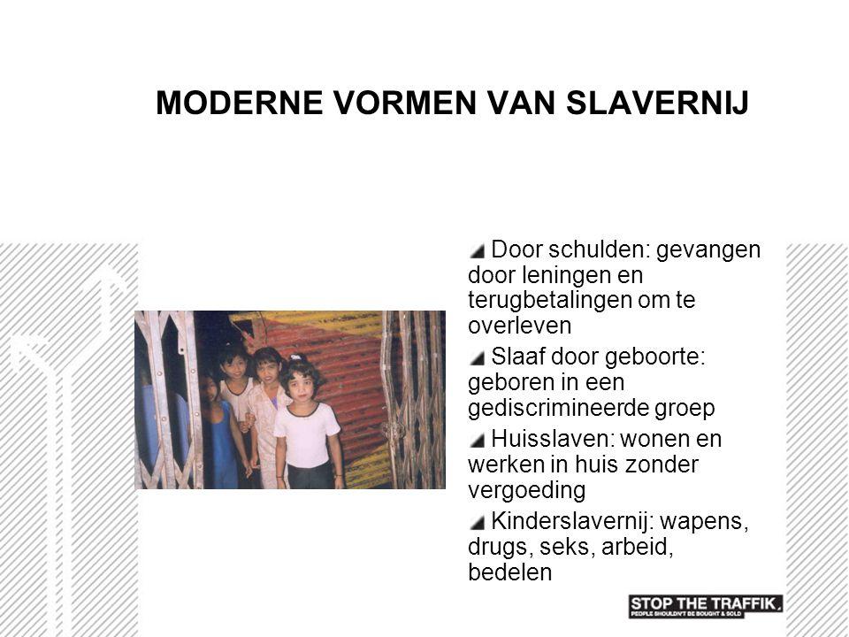 MODERNE VORMEN VAN SLAVERNIJ