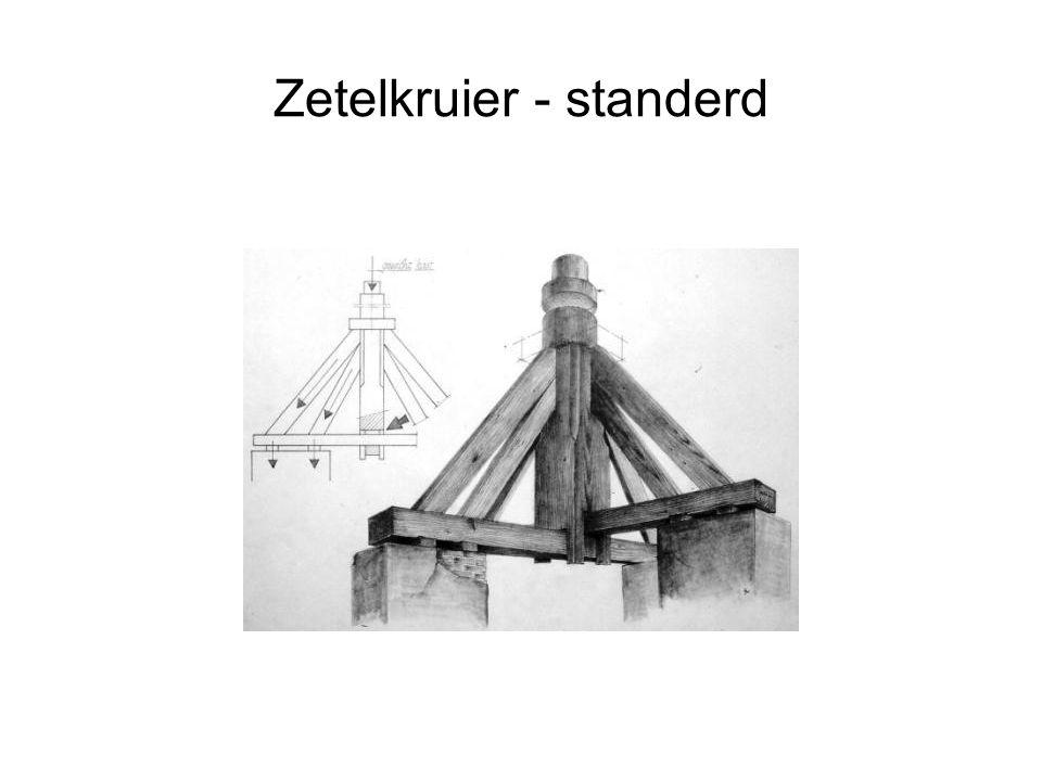 Zetelkruier - standerd