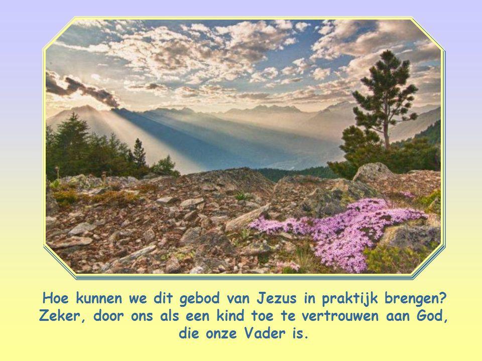 Hoe kunnen we dit gebod van Jezus in praktijk brengen