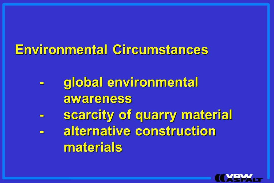 Environmental Circumstances