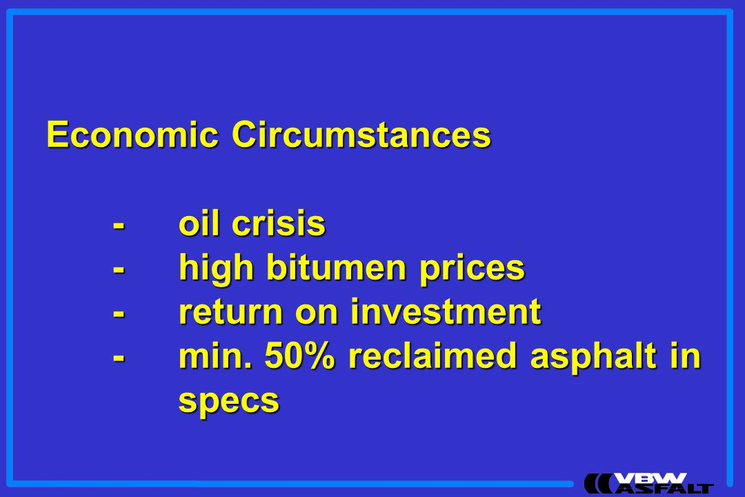Economic Circumstances