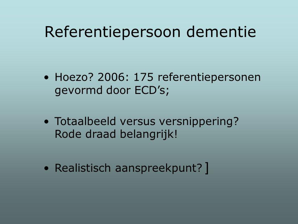 Referentiepersoon dementie