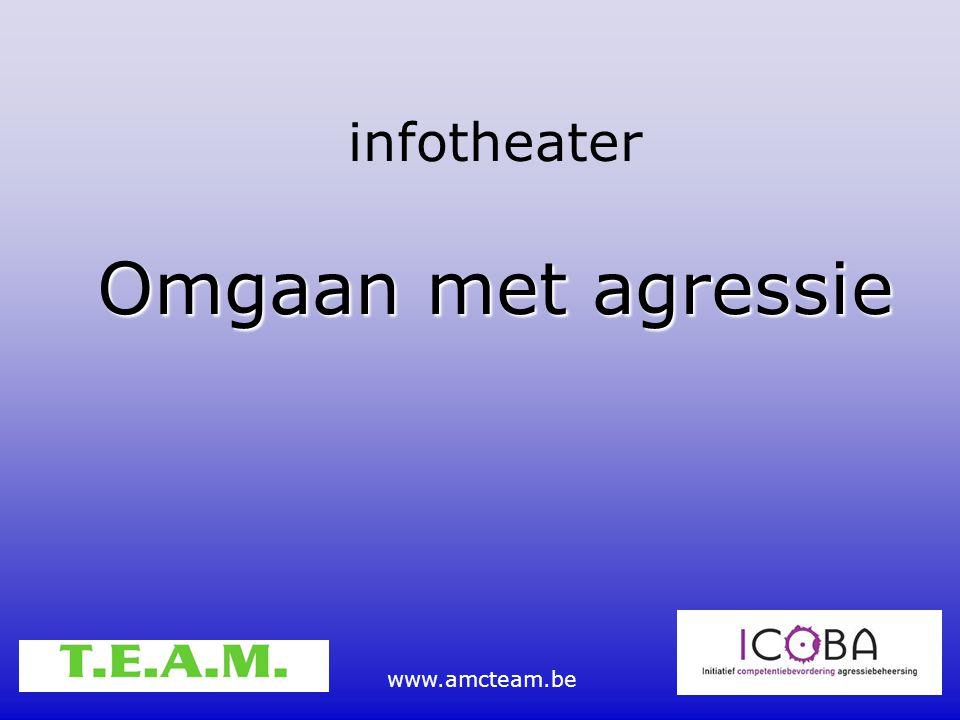infotheater Omgaan met agressie