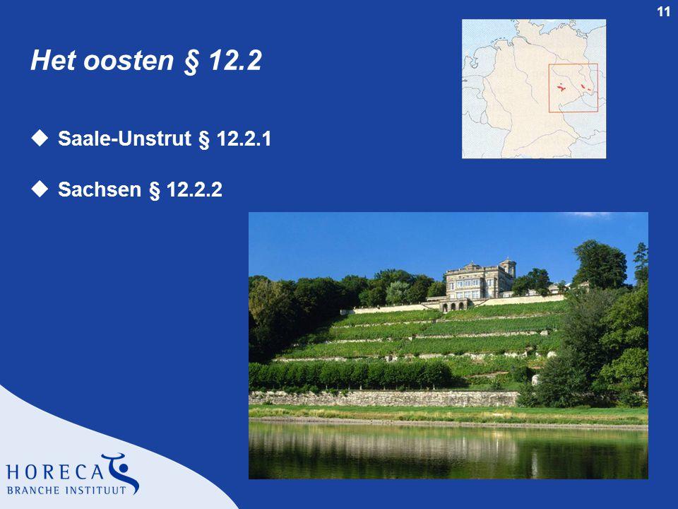 Het oosten § 12.2 Saale-Unstrut § 12.2.1 Sachsen § 12.2.2