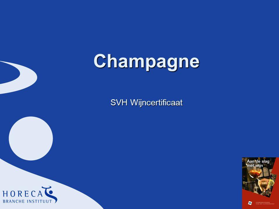 Champagne SVH Wijncertificaat