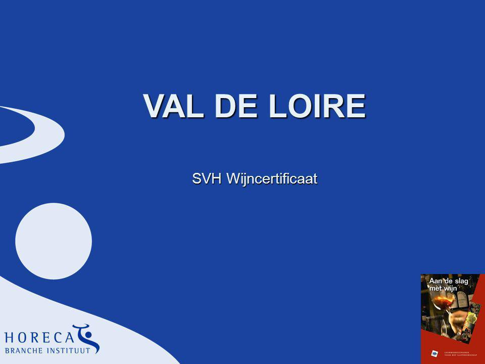 VAL DE LOIRE SVH Wijncertificaat