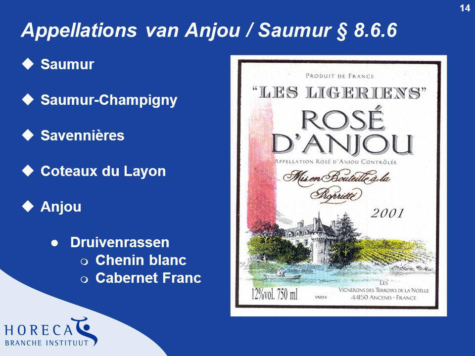 Appellations van Anjou / Saumur § 8.6.6
