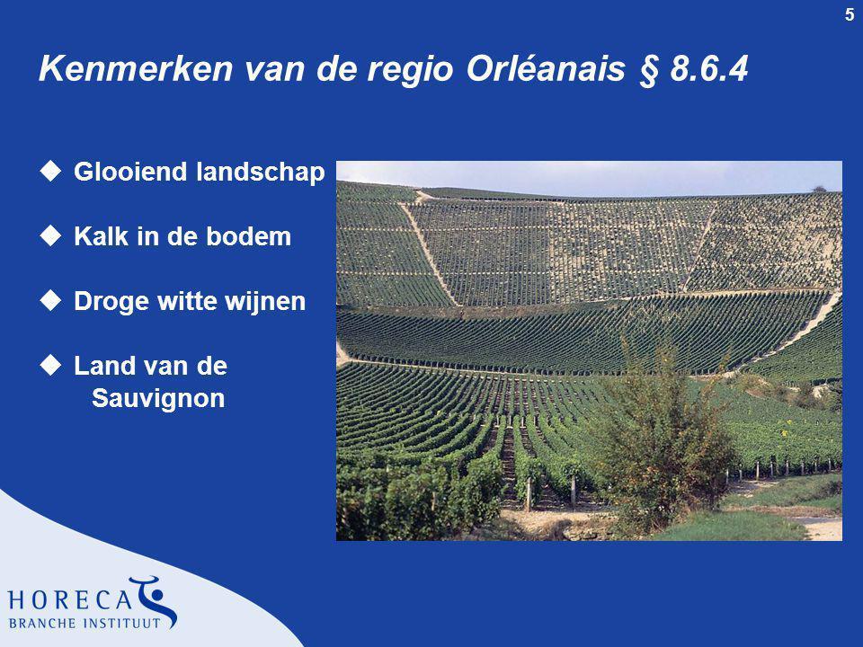 Kenmerken van de regio Orléanais § 8.6.4