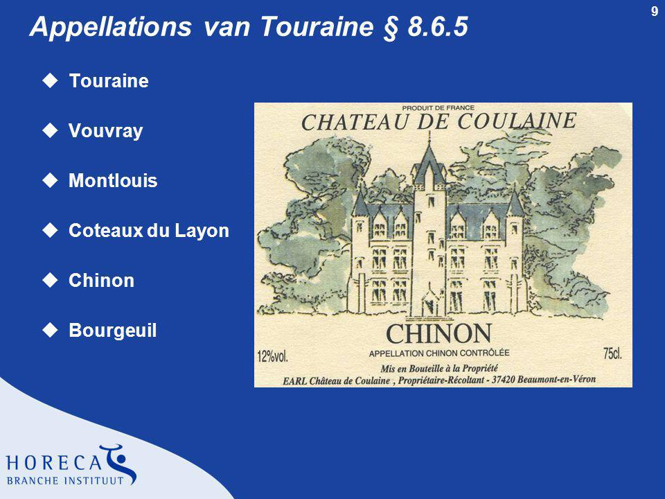 Appellations van Touraine § 8.6.5