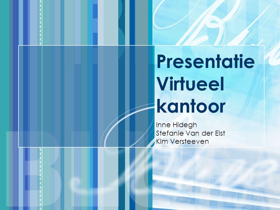 Presentatie Virtueel kantoor