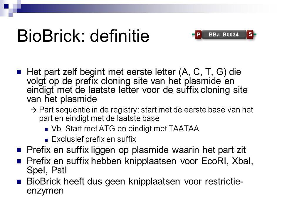 BioBrick: definitie