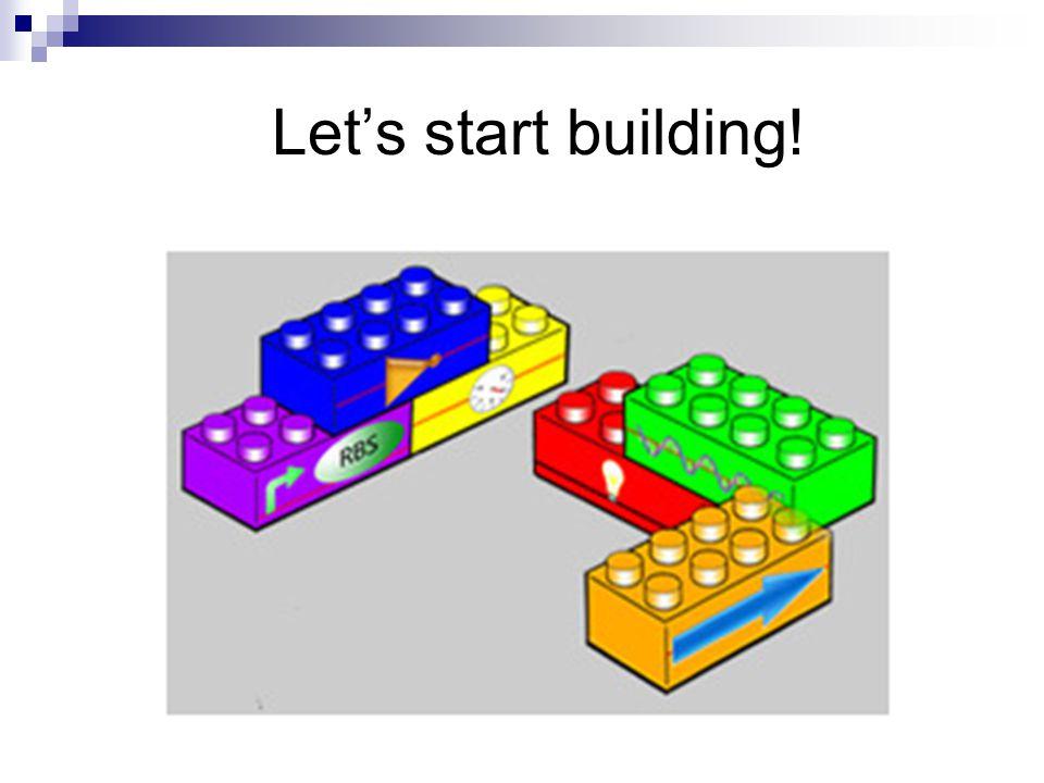 Let's start building!