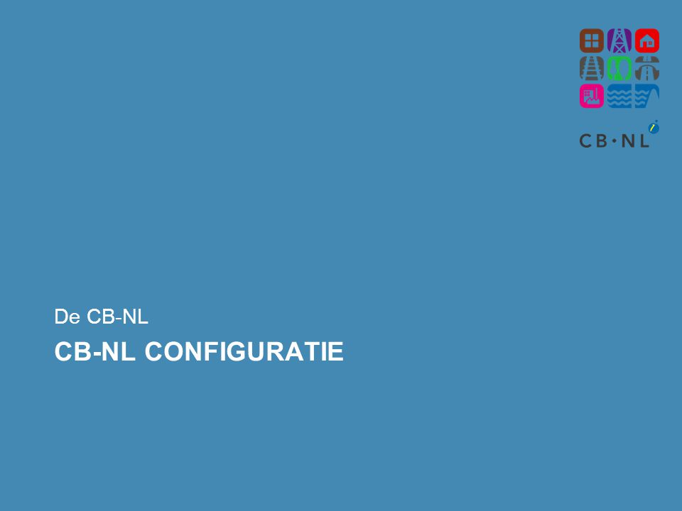 De CB-NL CB-NL Configuratie
